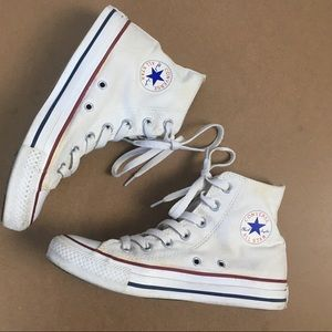 CONVERSE WHITE HIGHTOP SNEAKERS ALL STAR UNISEX